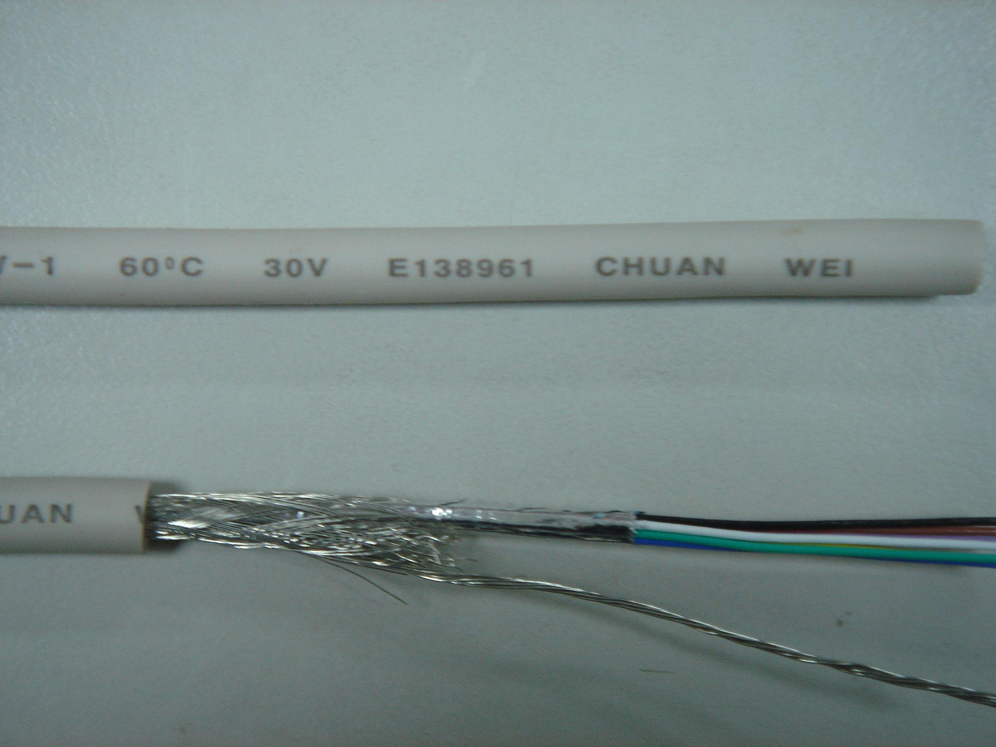 UL2969 Aluminum/mylar & Braid Shield - 產品介紹 - CHUAN WEI